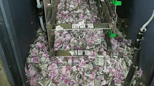 Not Fake News! Mice Destroy Currency Worth Rs 12 Lakh at Assam ATM