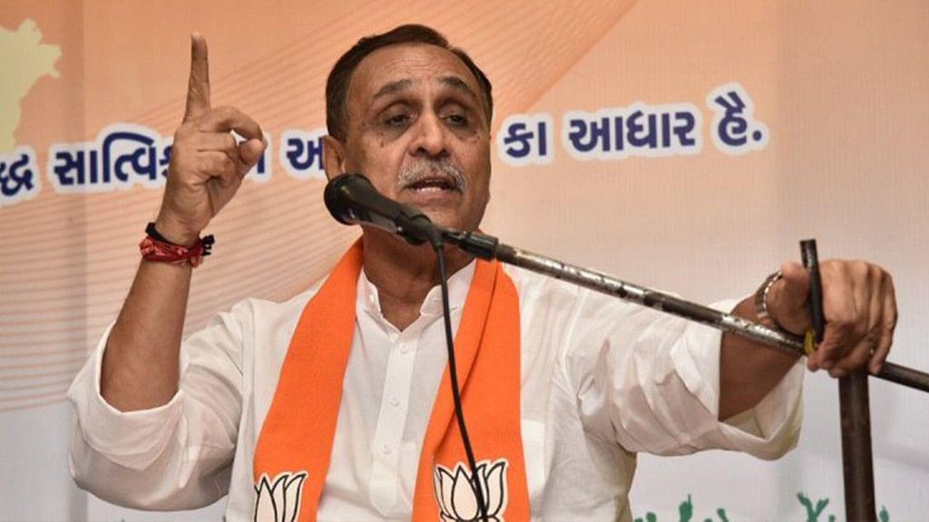 Gujarat Chief Minister Vijay Rupani.