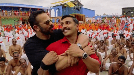 Watch: Ranveer  Shows Some Love for 'Simmba' Director Rohit Shetty