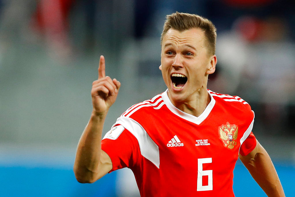 With three goals already, Denis Cheryshev seems to have brought  a stroke of good luck for the team.
