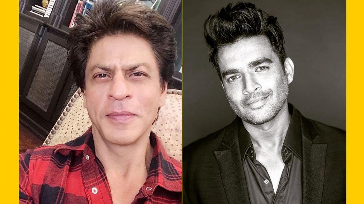 SRK celebrated R. Madhavan's birthday in Alabama, on the sets of the upcoming film - <i>Zero</i>.&nbsp;