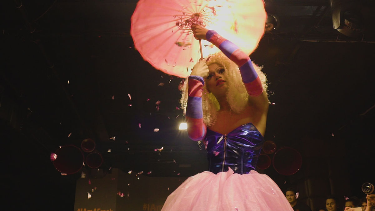 Prateek Sachdeva is a freelance dancer and is a drag queen by the name of Betta Naan Stop.