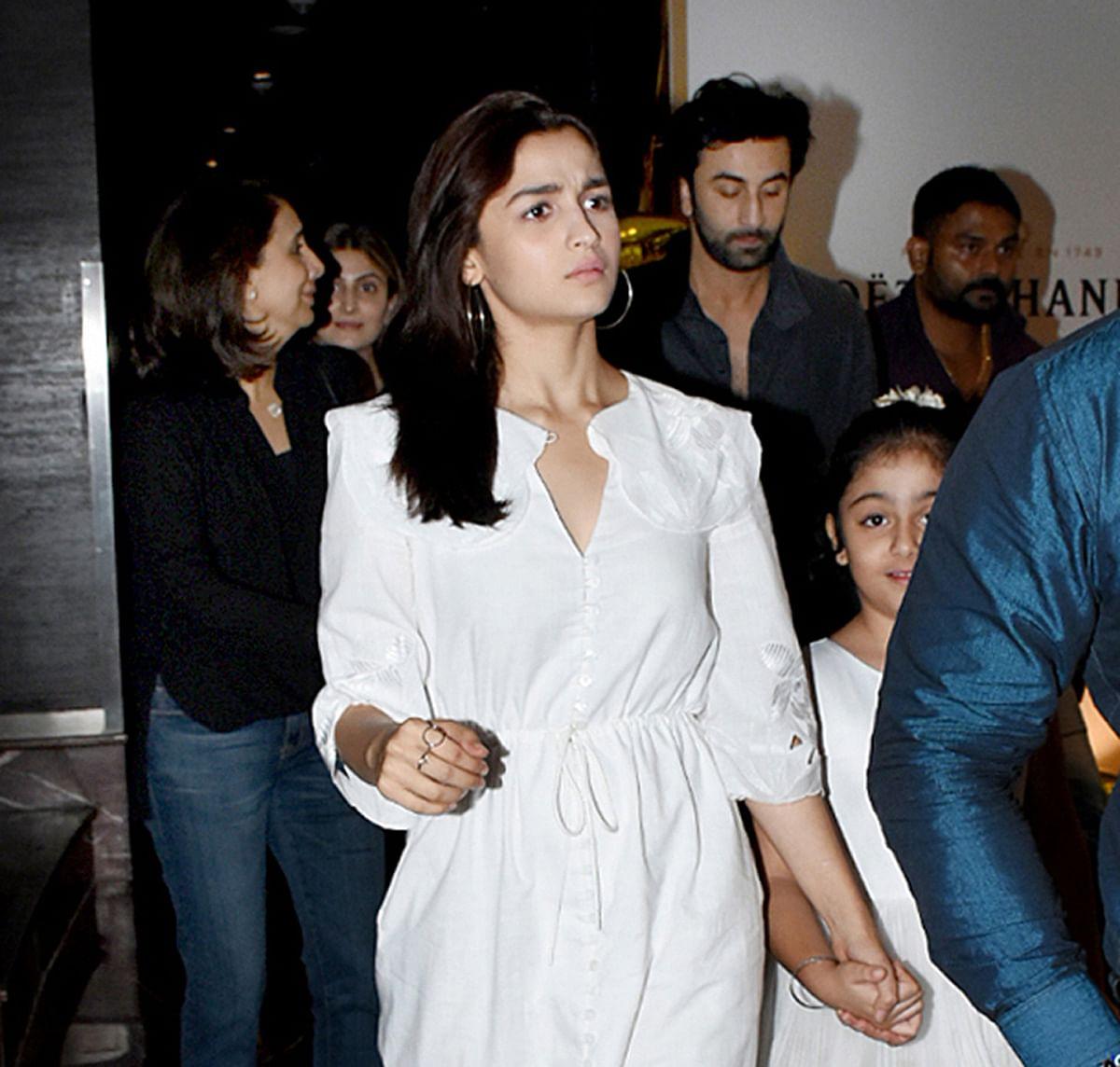 Ranbir had earlier confirmed that he's dating Alia.