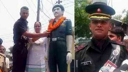 Kargil Martyr's Son Joins His Father's Battalion