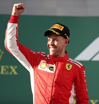 Sebastian Vettel. (File Photo: Xinhua/Bai Xuefei/IANS)
