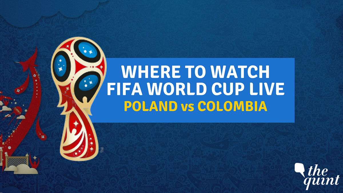 Poland vs Colombia FIFA World Cup 2018: Watch Online & on TV