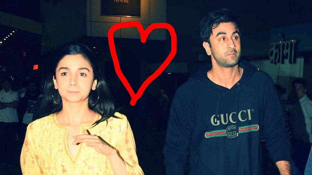 The Alia Bhatt and Ranbir Kapoor love story.