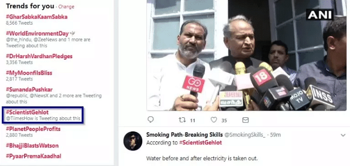No, Gehlot Didn't Say Creating Power Can Remove Energy From Water