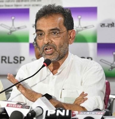Union Minister and RLSP leader Upendra Kushwaha.(File Photo: IANS)