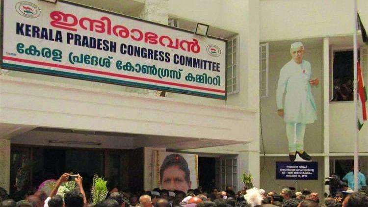 The headquarters of the Kerala Pradesh Congress Committee (KPCC) in Thiruvananthapuram.