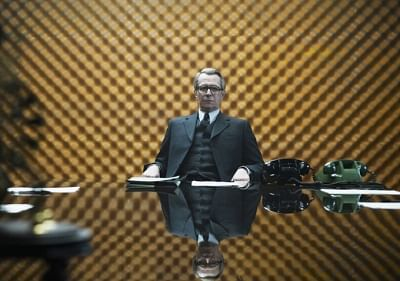 """Gary Oldman  as George Smiley in a recent screen adaptation of """"Tinker, Tailor, Soldier, Spy"""""""