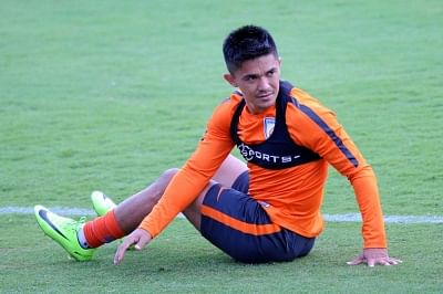 Indian football captain Sunil Chhetri. (File Photo: IANS)