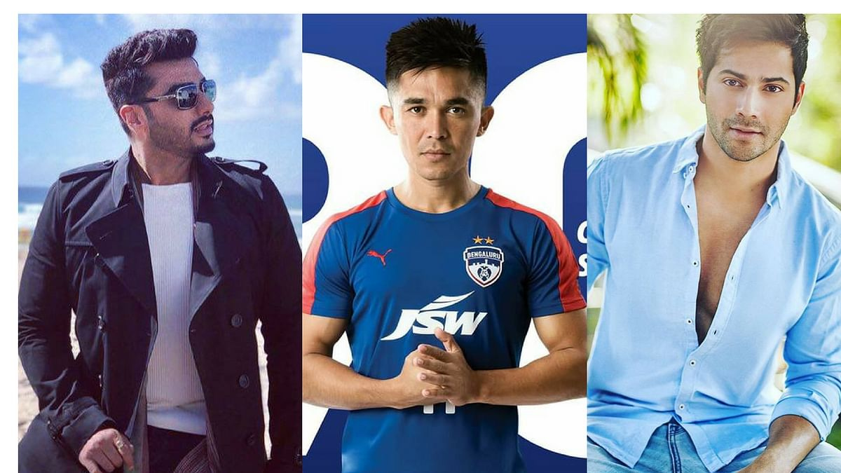 Bollywood celebrities like  Arjun Kapoor and Varun Dhawan have celebrated India's victory over Kenya at the 2018 International Cup on Twitter.