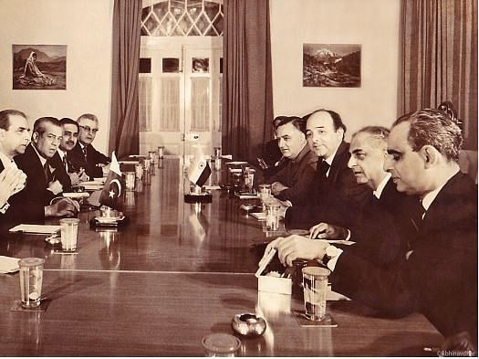Opening session at the Simla Summit, June 1972.