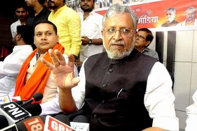Bihar Deputy Chief Minister Sushil Kumar Modi. (Photo: IANS)