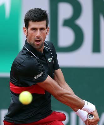 Novak Djokovic. (Xinhua/Luo Huanhuan/IANS)