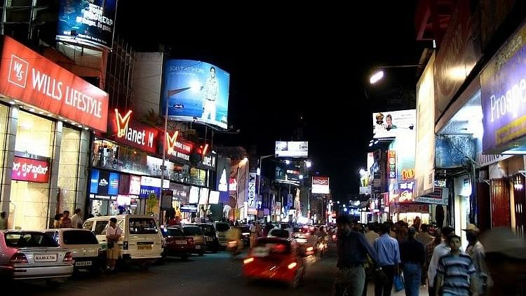 Brigade Road in Bengaluru. Image used for representation.