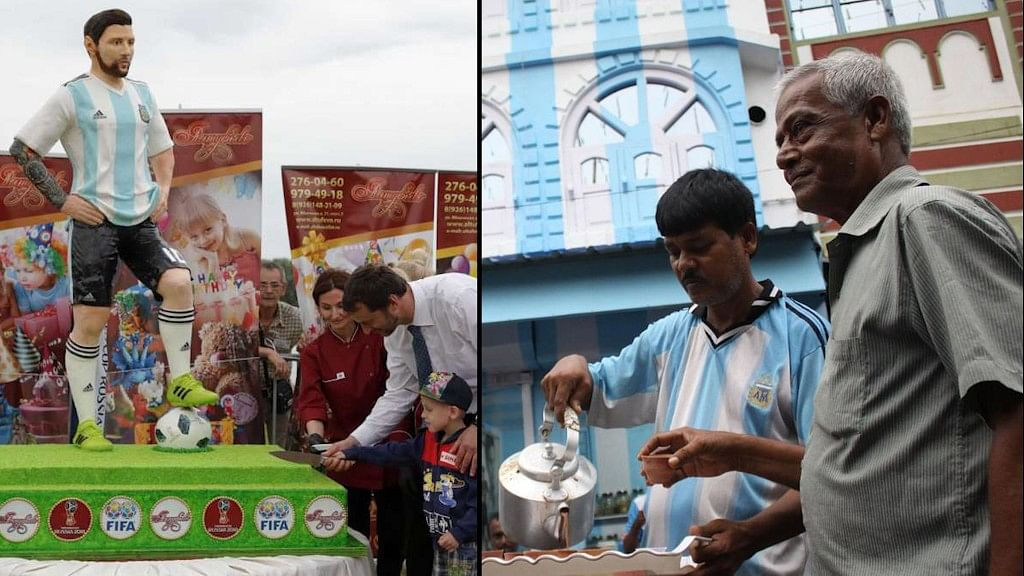 Messi's 31st Birthday Celebrated With Fanfare in Russia and India