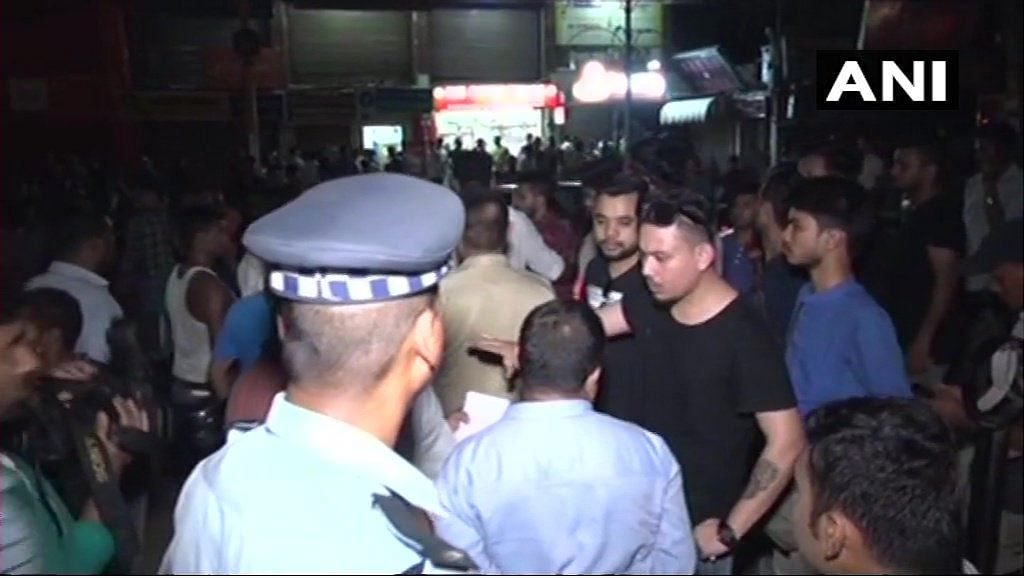 Protesters clashed with the police in Guwahati late last night.