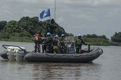 Bangladeshi peacekeepers with a Force Marine Unit of the United Natiions Mission in South Sudan (UNMISS). (File Photo: UN/IANS)