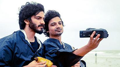 Harshvardhan Kapoor and Priyanshu Painyuli in a still from <i>Bhavesh Joshi Superhero. </i>(Photo Courtesy: Twitter)