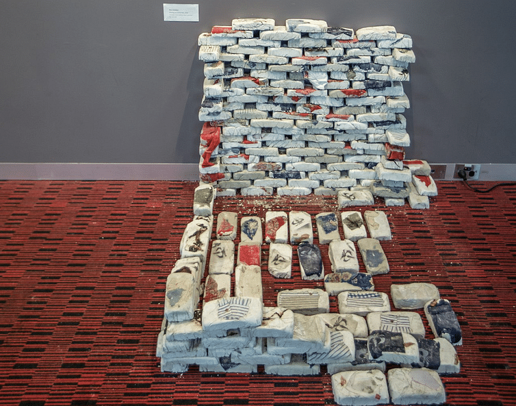 Elina Simbolon, installation art for the 20-year commemoration of the May 1998 events.