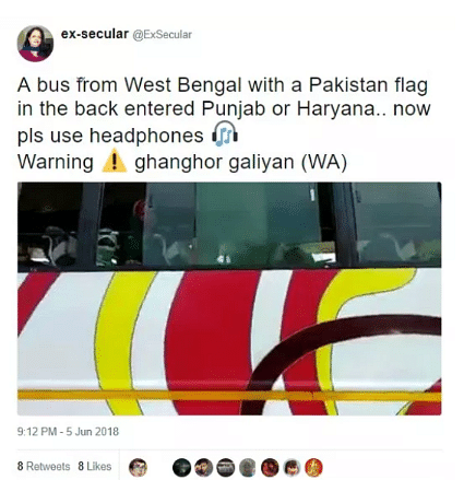 Elderly Bus Driver Harassed by Men Who Can't Identify  Pak Flag