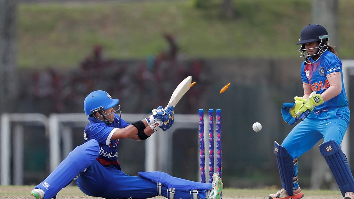 Kuala Lumpur: Thailand skipper Sornnarin Tippoch gets bowled out against India during Asia Cup 2018, in Kuala Lumpur, Malaysia on Monday, June 04, 2018.