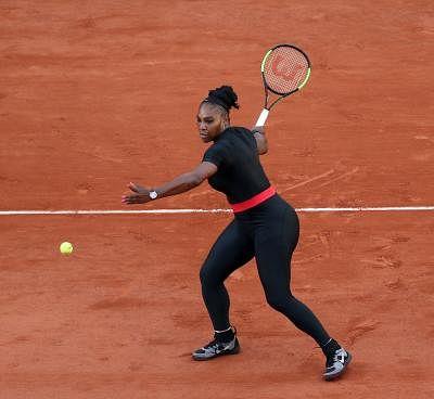 Serena Williams. (Xinhua/Luo Huanhuan/IANS)