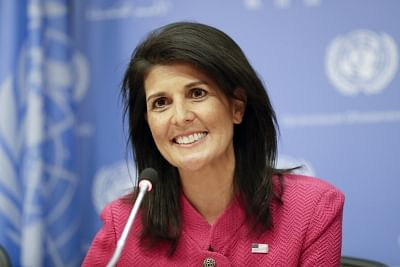 U.S. ambassador to the United Nations Nikki Haley. (File Photo: IANS)