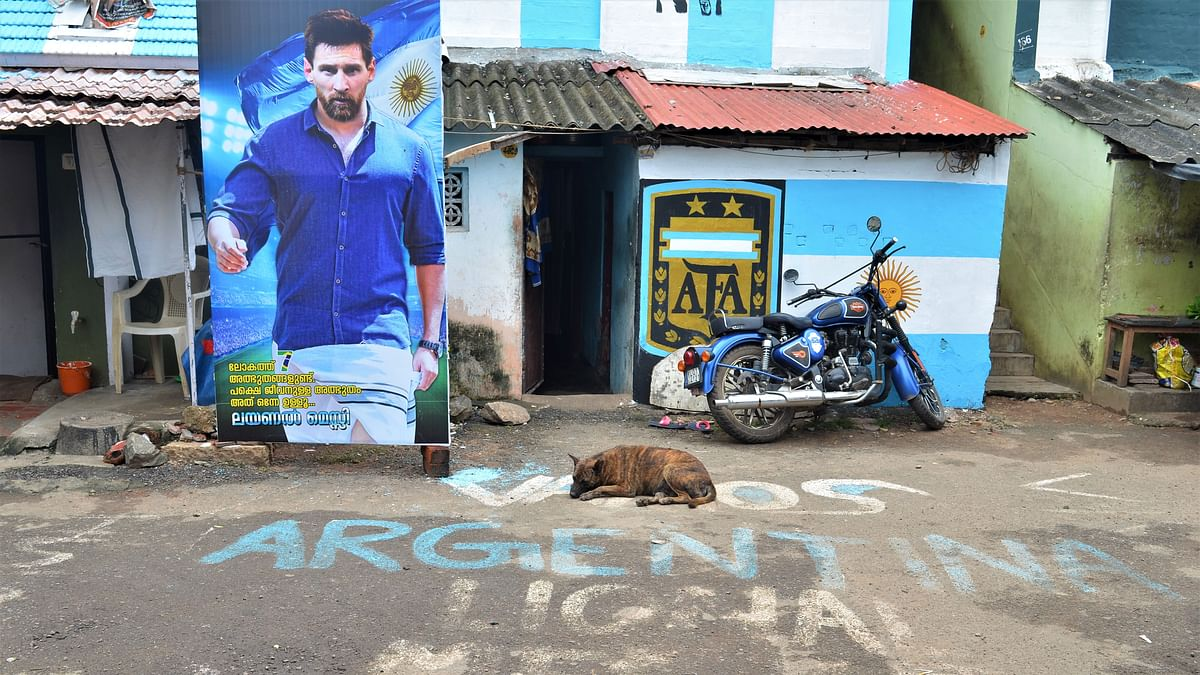 In Photos: God's Own Country Goes Football-Crazy