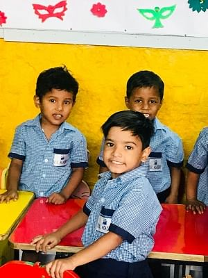 KK Academy set a sterling example in social integration by pioneering the idea of making access to school a reality for hundreds of unprivileged children, irrespective of their social status.