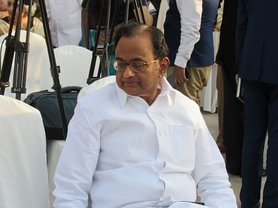 P. Chidambaram. (File Photo: IANS)