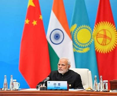 Qingdao: Prime Minister Narendra Modi attends the Plenary Session of the Shanghai Cooperation Organisation (SCO) Summit in Qingdao, China on June 10, 2018. (Photo: IANS/PIB)
