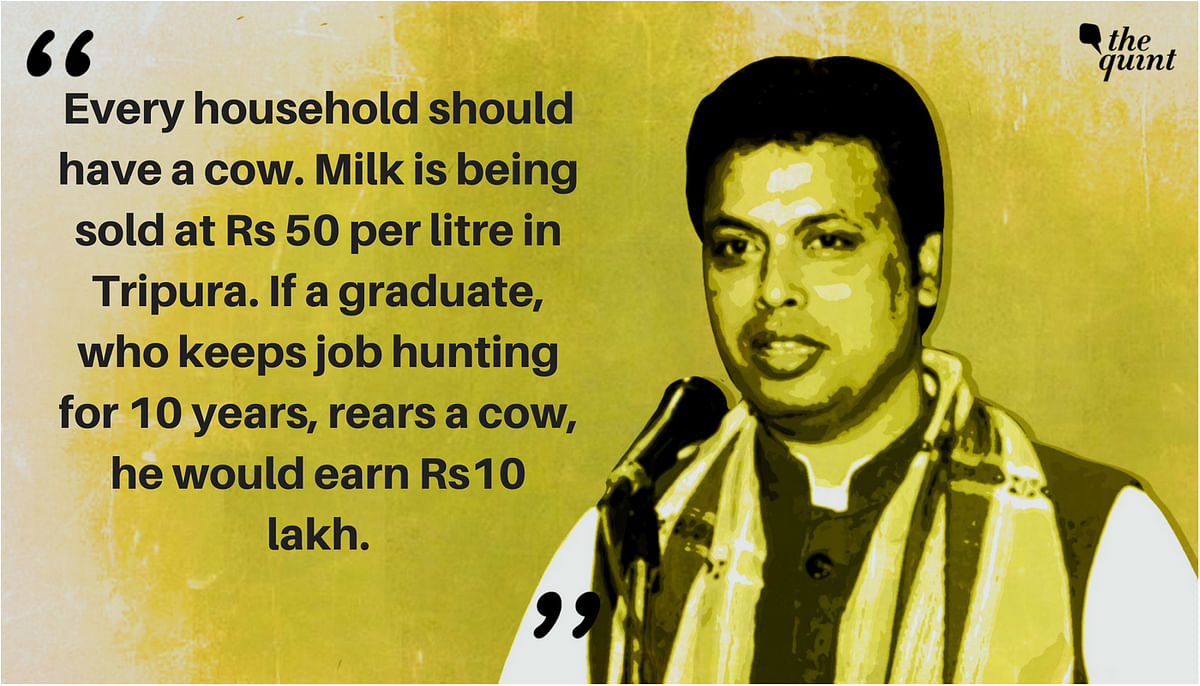 100 Days of Biplab  as CM: Things He Said That We Wish He Hadn't