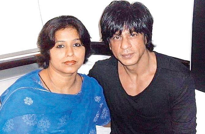 SRK and Noor Jehan.