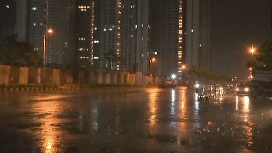 Heavy rains lashed Mumbai on Saturday, 2 June.