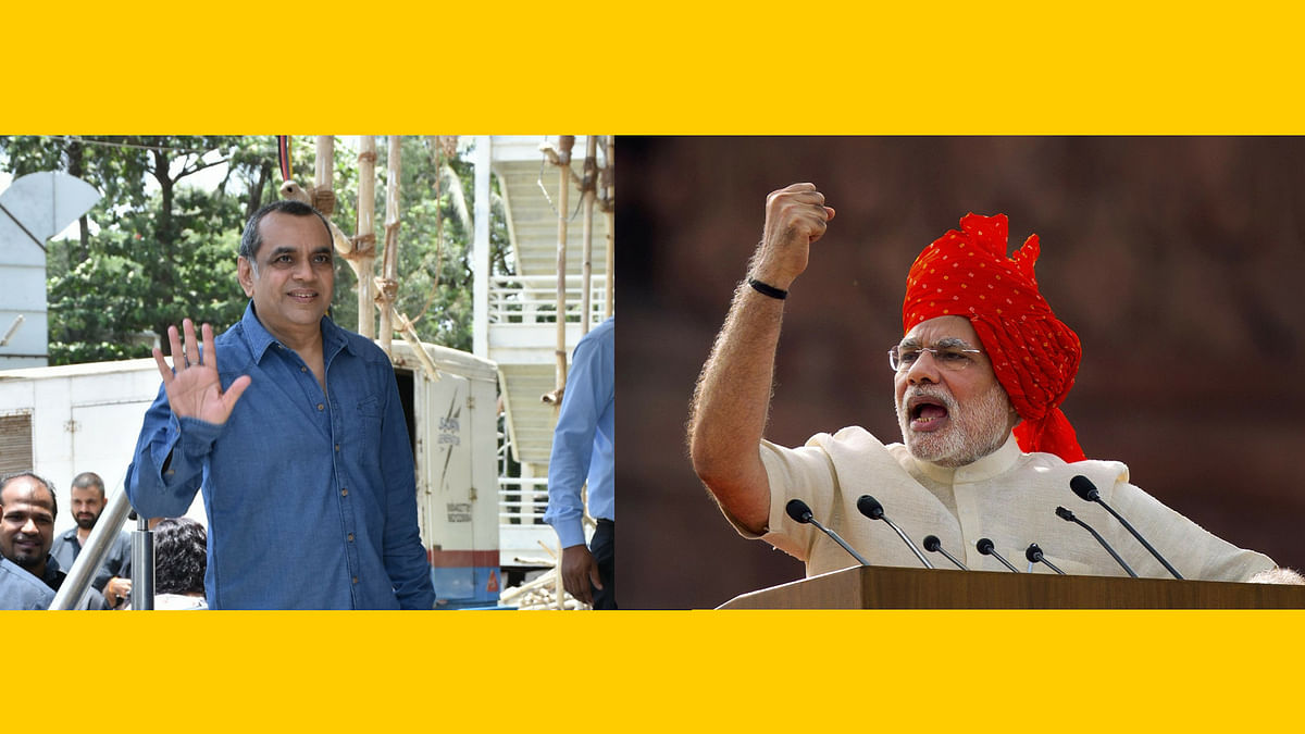 Paresh Rawal will be portraying Prime Minister Narendra Modi in at untitled project.