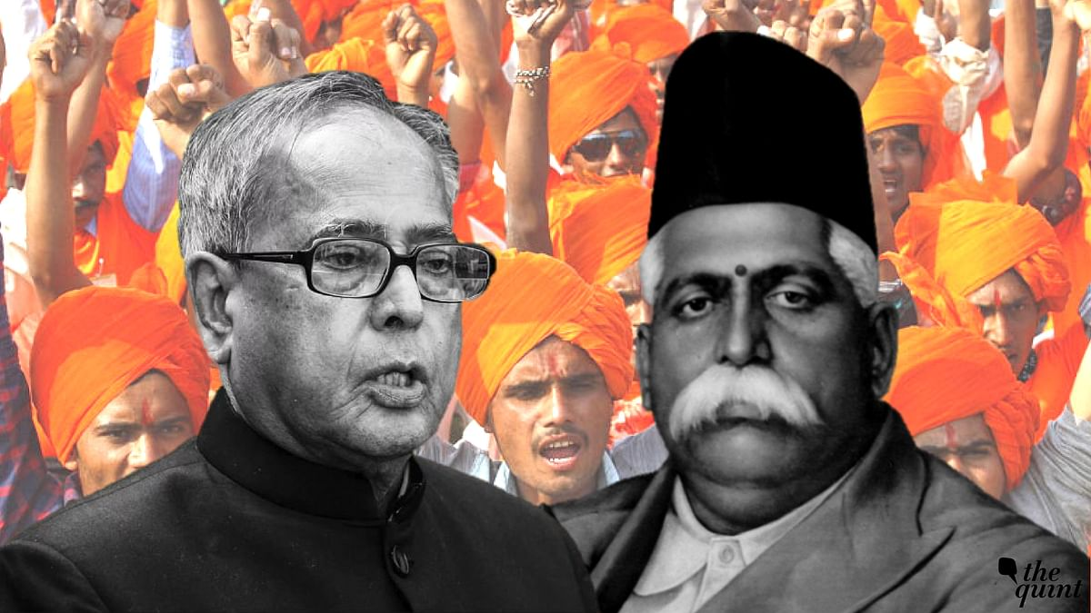 "Pranab Da, Here's ""Great Son of India"" Hedgewar Contradicting You"