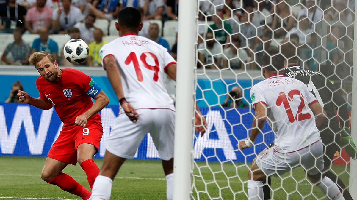 World Cup: Watch Harry Kane's Injury-Time Winner Against Tunisia