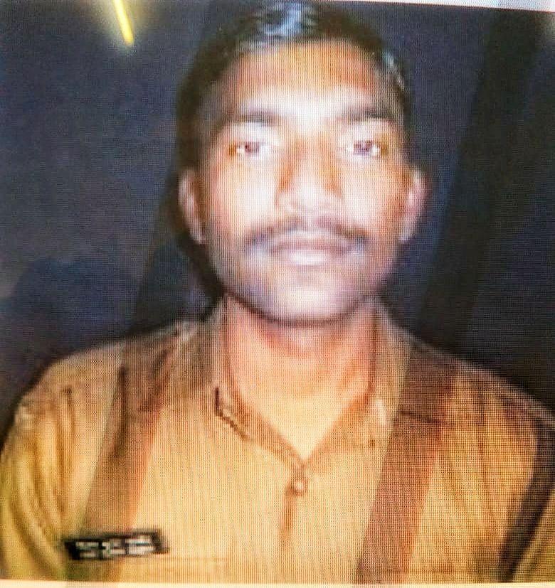 Constable Vijay Kumar Pandey was killed in cross-border firing in J&K's Ankhoor on 3 June.