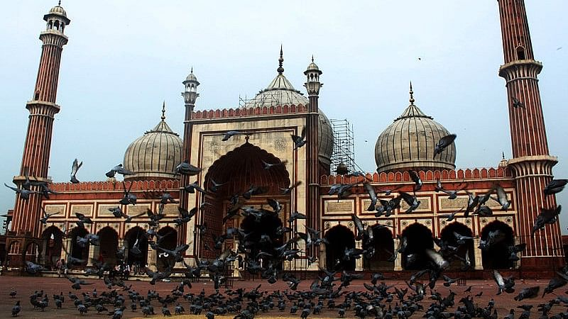 Jama Masjid, an iconic structure in Old Delhi.