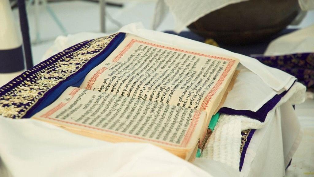Image of Guru Granth Sahib used for representational purposes.