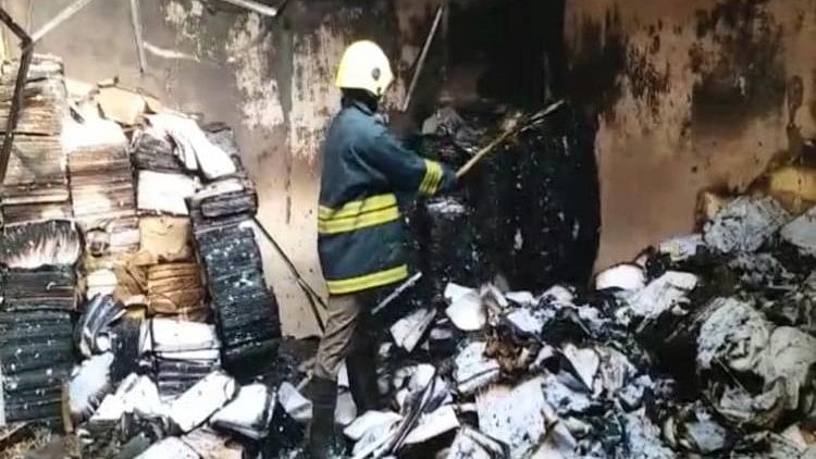 Fire Breaks Out in Osmania University, Destroys Answer Sheets