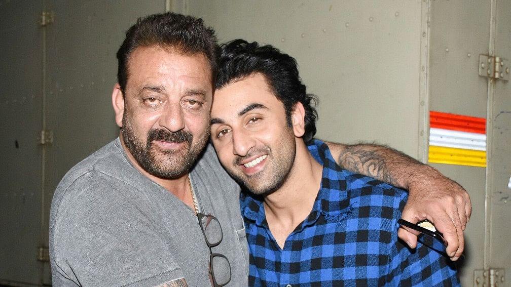 Sanjay Dutt and Ranbir Kapoor.
