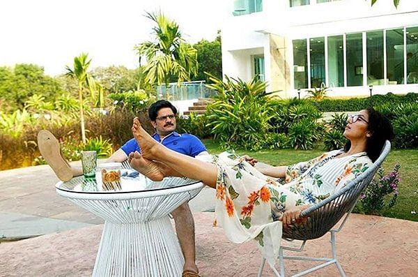 Jaideep Ahlawat and Manisha Koirala in the film.