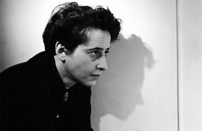 Characters who have never figured in fiction: German philosopher and political theorist Hannah Arendt