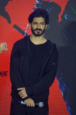 """Mumbai: Actor Harshvardhan Kapoor promoting his upcoming film """"Bhavesh Joshi"""" in Mumbai on May 29, 2018. (Photo: IANS)"""