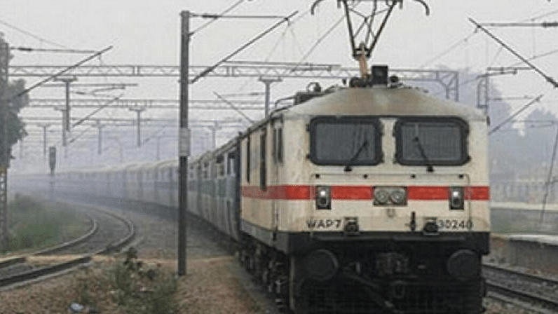 Woman & Infant Escape Unhurt After Train Passes Over Them in MP