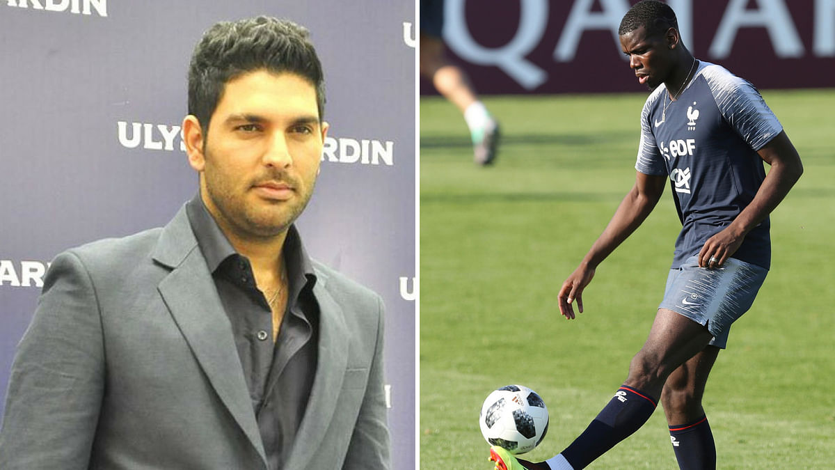 'I Support France Because of Pogba': Yuvraj Singh